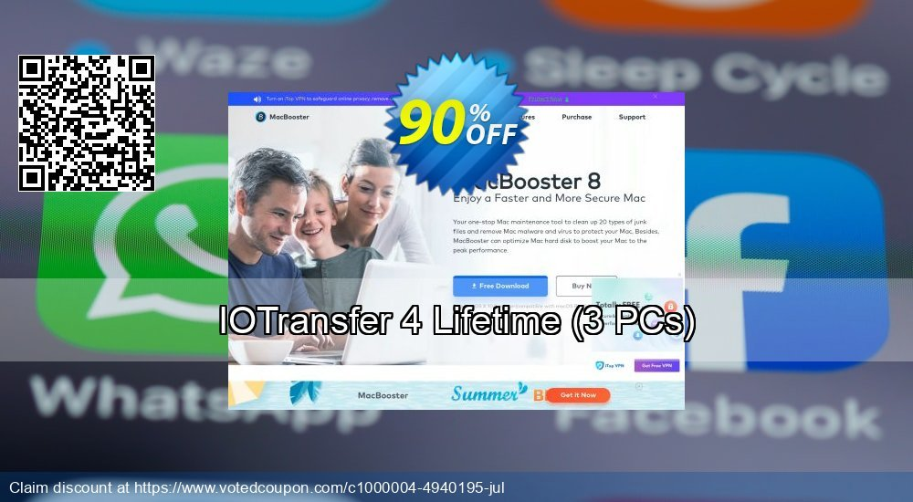 Get 89% OFF IOTransfer 3 promo sales