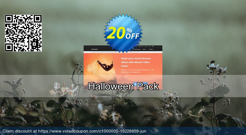 Get 20% OFF Movavi effect Halloween Pack discount