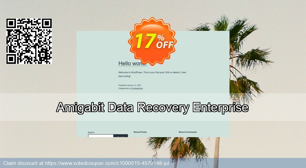 Get 17% OFF Amigabit Data Recovery Enterprise Coupon