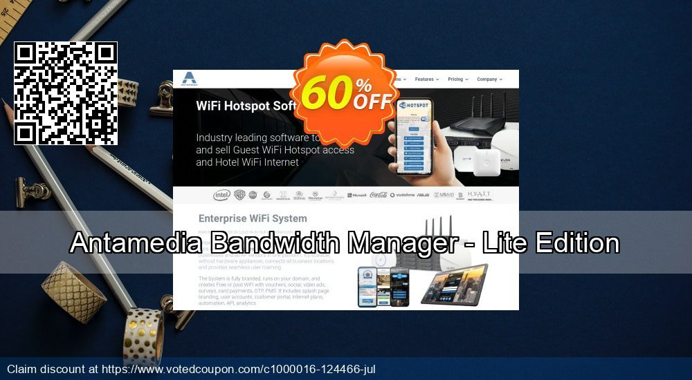 Get 20% OFF Antamedia Bandwidth Manager - Lite Edition offering sales