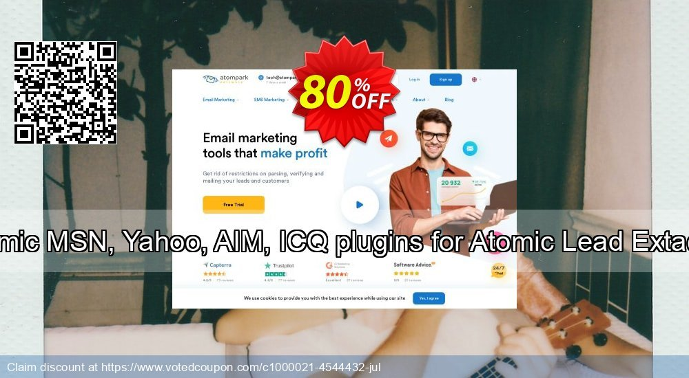 Get 20% OFF MSN, Yahoo, AIM, ICQ plugins for Atomic Lead Extactor deals