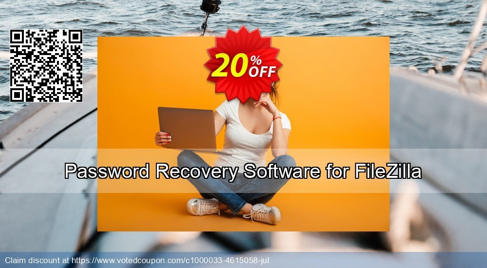 20% OFF Password Recovery Software for FileZilla Coupon code on Back to  School promotion, September 2019