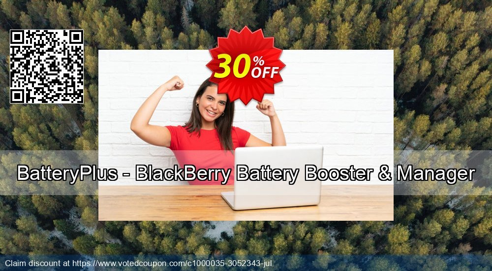 Get 30% OFF BatteryPlus - BlackBerry Battery Booster & Manager discount