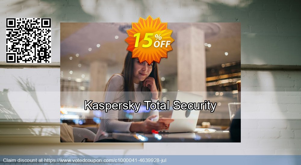 Get 10% OFF Kaspersky Total Security sales