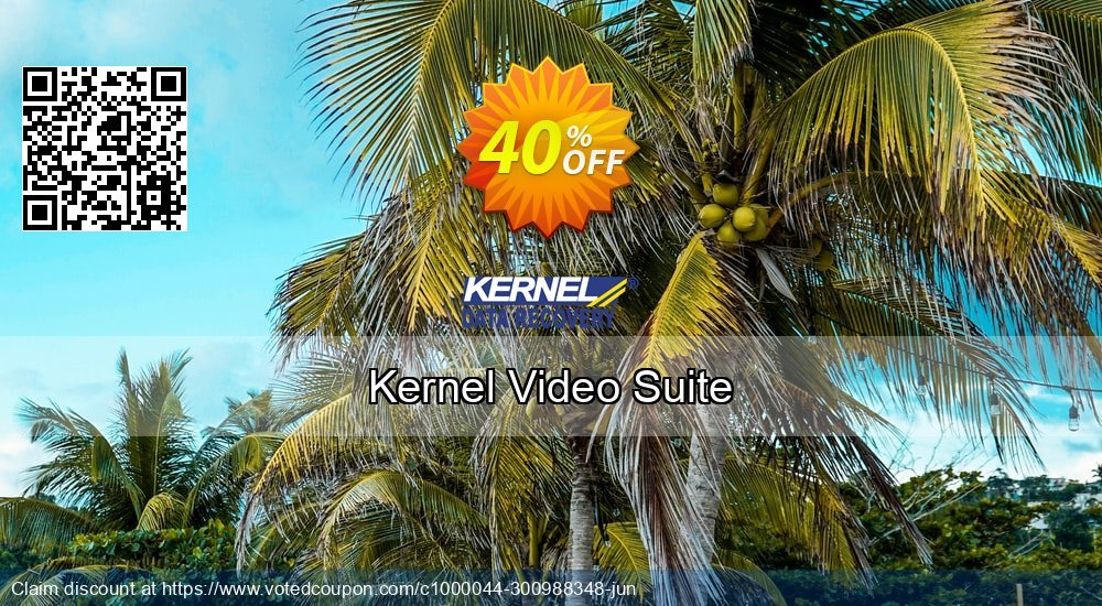 Get 40% OFF Kernel Video Suite Coupon