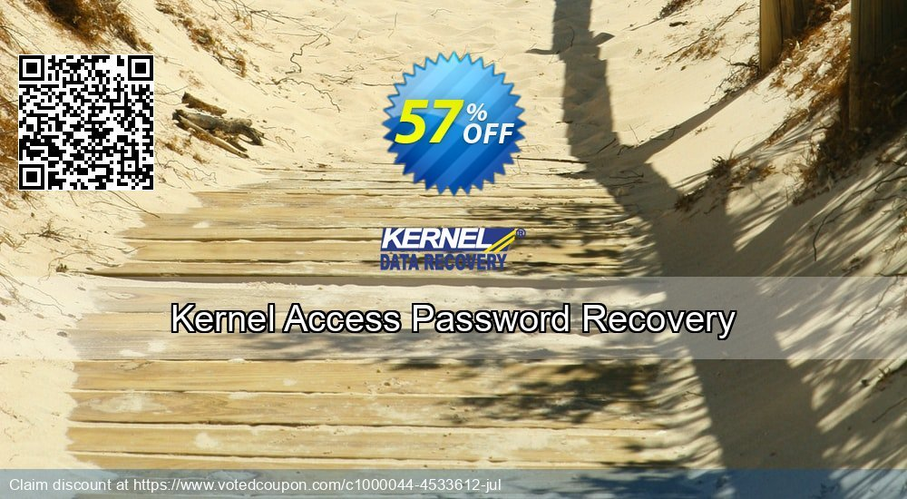 Get 57% OFF Kernel Access Password Recovery Coupon