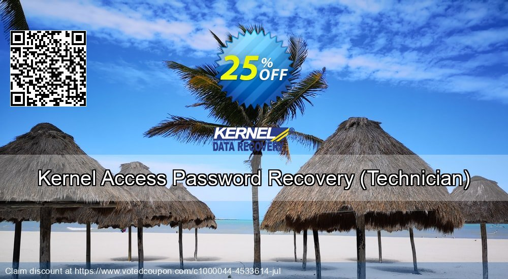 Get 20% OFF Kernel Access Password Recovery - Technician License offering sales