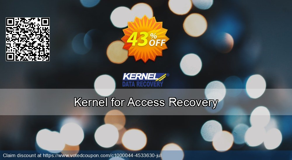 Get 43% OFF Kernel for Access Recovery Coupon