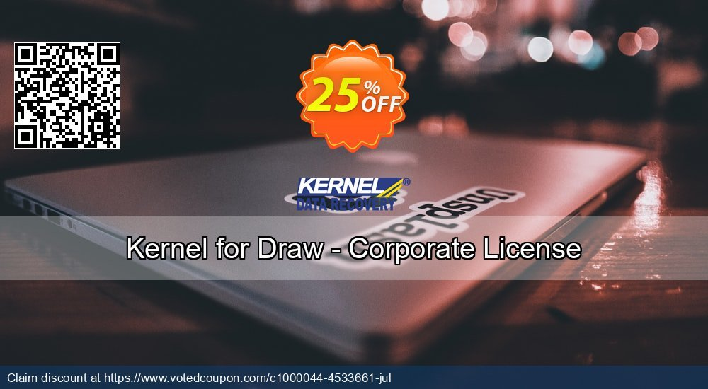 Get 20% OFF Kernel for Draw - Corporate License offering sales