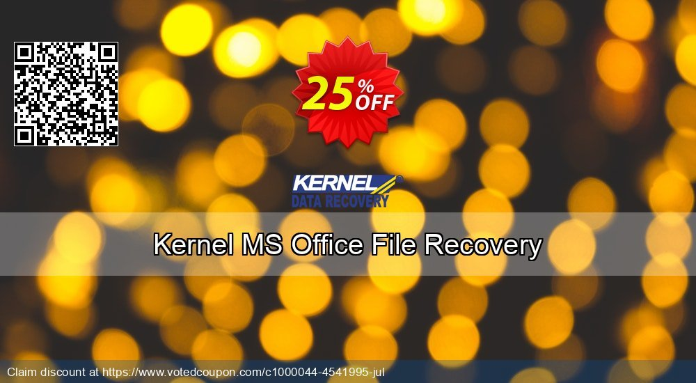 Get 10% OFF Kernel Recovery for MS Office Repair (Basic) sales