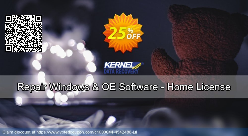 Get 10% OFF Repair Windows & OE Software - Home License offering sales