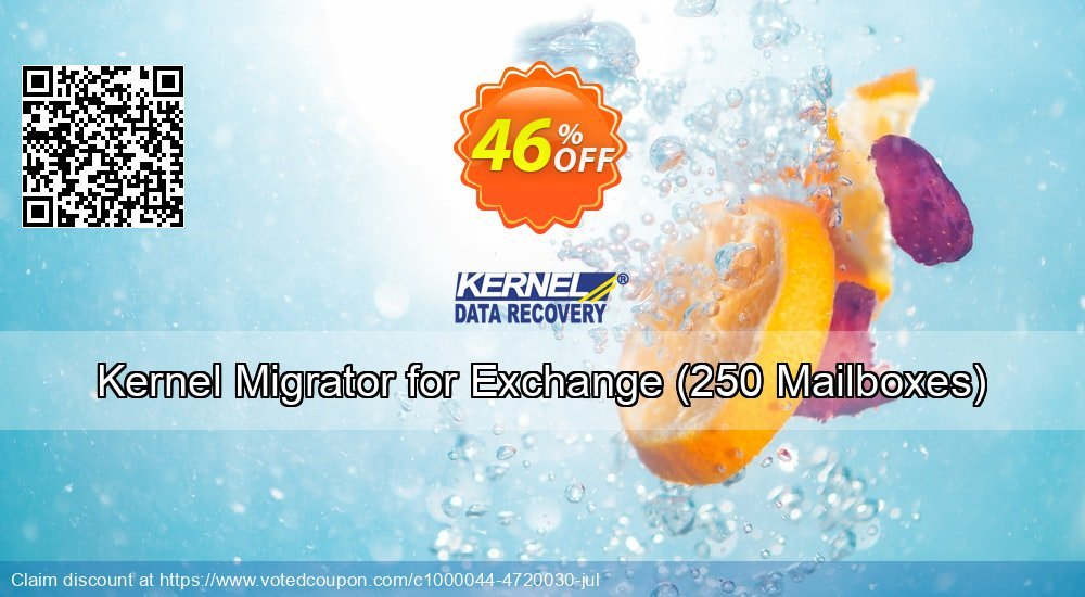 Get 25% OFF Kernel Migrator for Exchange, 250 Mailboxes Coupon