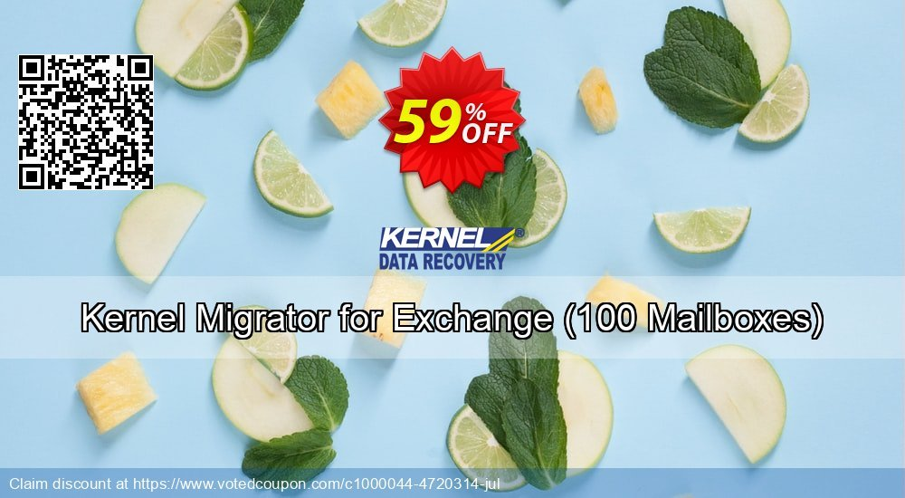 Get 25% OFF Kernel Migrator for Exchange, 100 Mailboxes Coupon