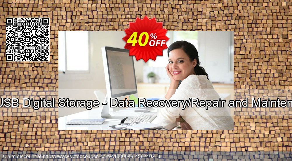 Get 30% OFF Data Recovery Software for USB Digital Storage - Data Recovery/Repair and Maintenance Company User License offering sales