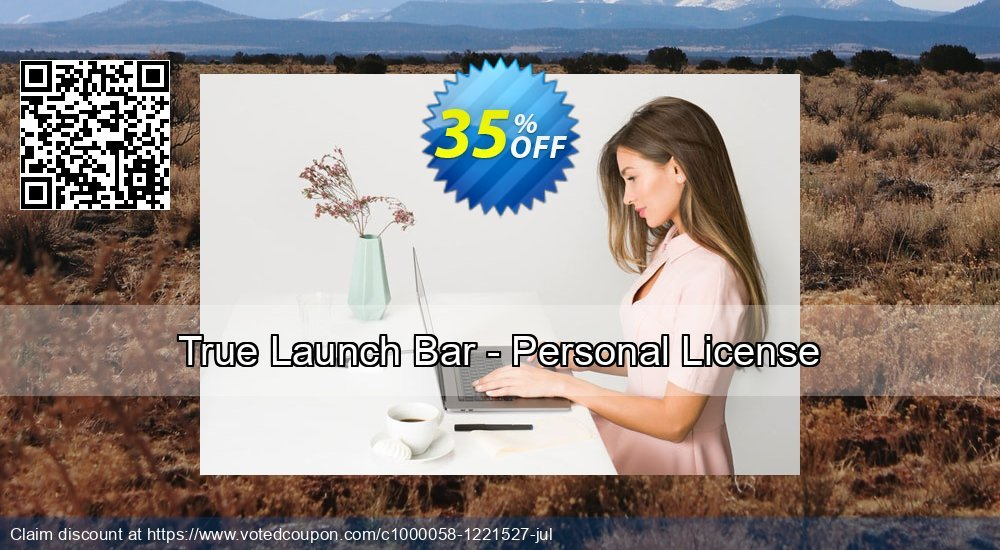 Get 20% OFF True Launch Bar - Personal License offering sales