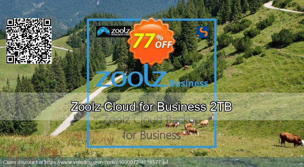 Get 61% OFF Zoolz Business Terabyte Cloud Storage (2 TB) - Unlimited Users/Servers offering sales