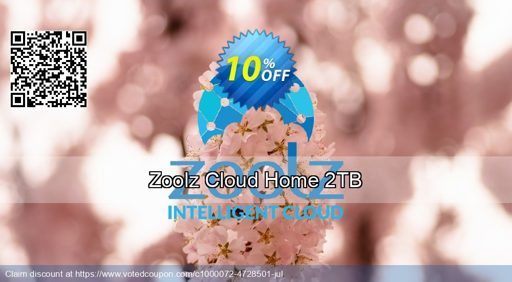Get 10% OFF Zoolz Home Cloud 2TB (1TB Cold & 1TB Vault) - LIFETIME (Affiliates) offering discount