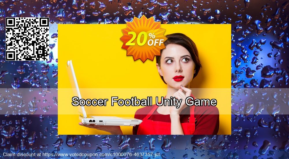 Get 10% OFF Soccer Football Unity Game offering deals