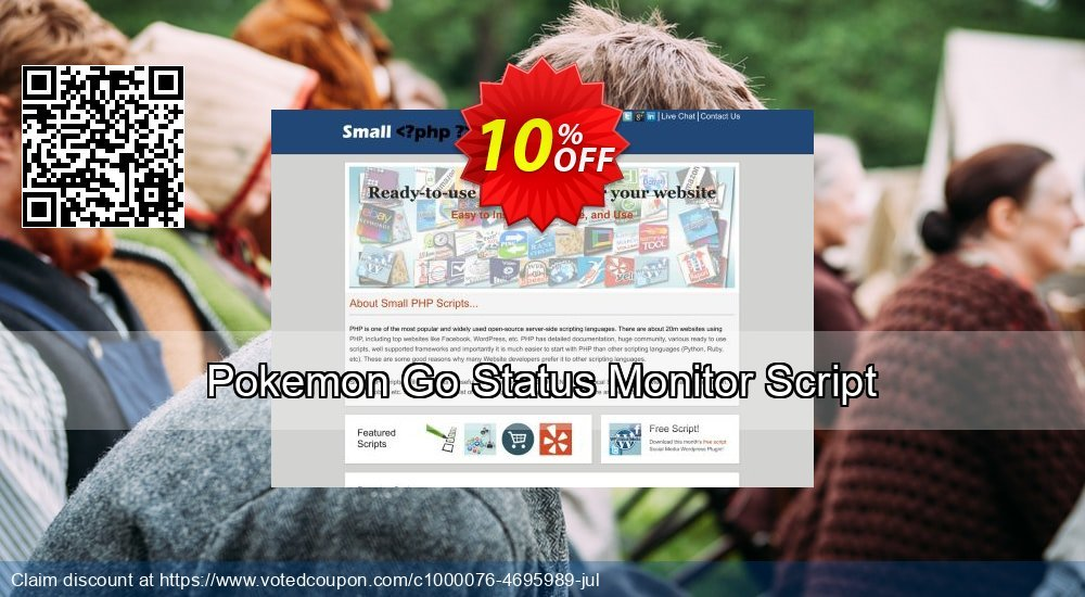 Get 10% OFF Pokemon Go Status Monitor Script promotions