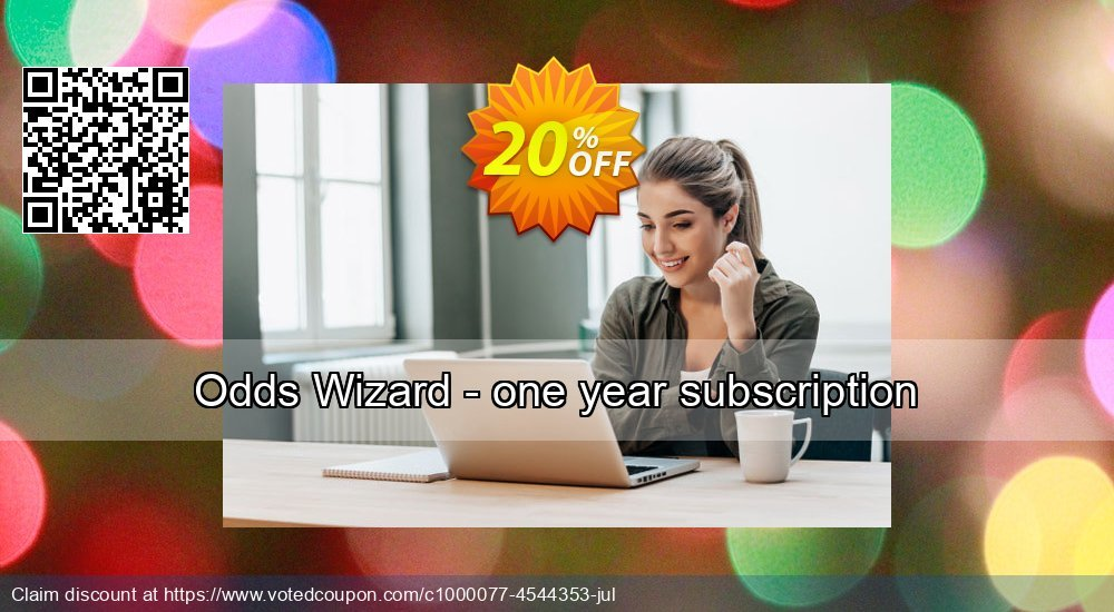 Get 10% OFF Odds Wizard - one year subscription offering discount