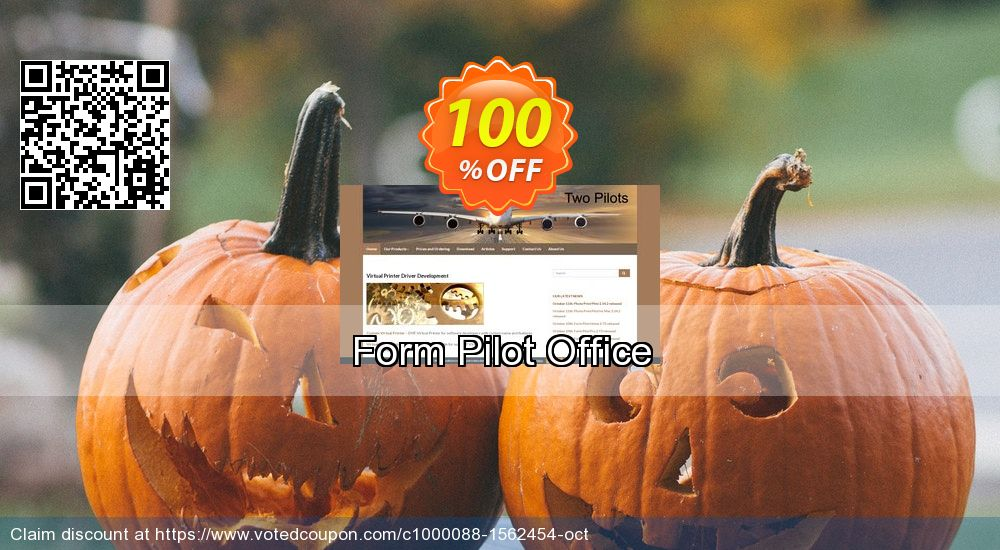Get 100% OFF Form Pilot Office sales