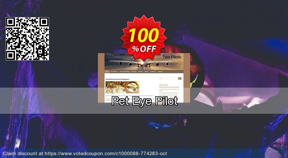 Get 20% OFF Pet Eye Pilot offering discount