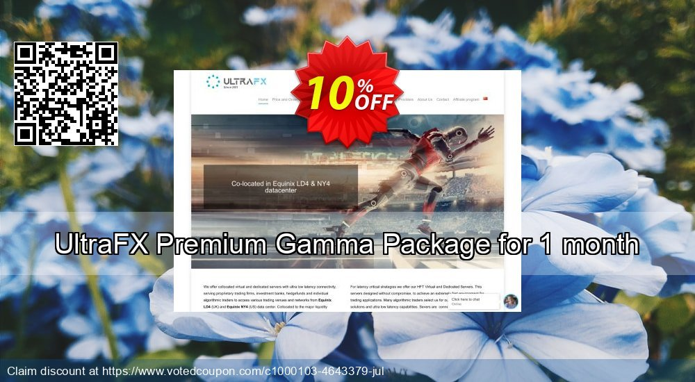 Get 10% OFF Premium Gamma Package for 1 month offering sales