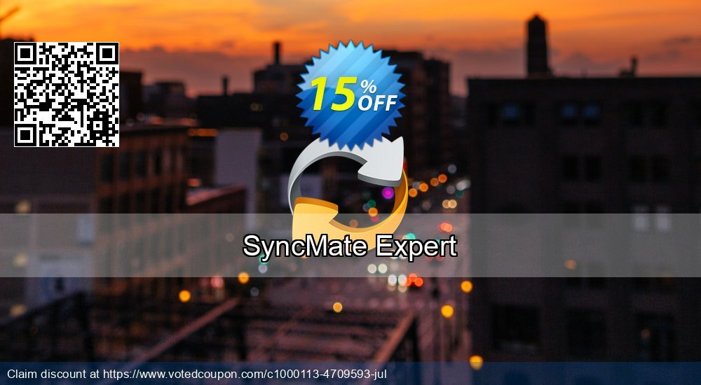 Get 10% OFF SyncMate Expert promo sales