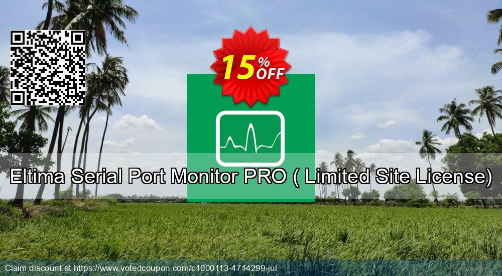 Get 10% OFF Serial Port Monitor Pro ( Limited Site License) deals