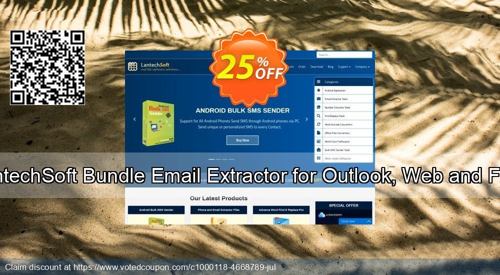 Get 10% OFF Bundle Email Extractor for Outlook, Web and Files offering sales