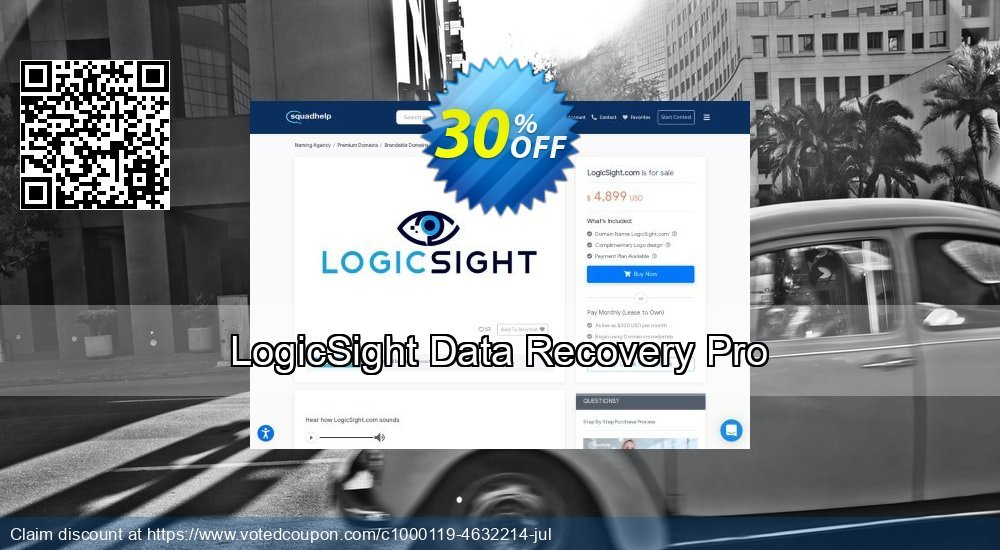 Get 30% OFF LogicSight Data Recovery Pro offering sales