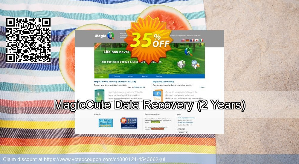 Get 35% OFF MagicCute Data Recovery, 2 Years Coupon