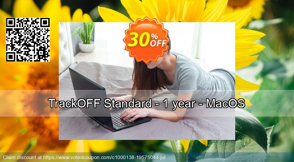 Get 30% OFF TrackOFF Standard - 1 year - MacOS sales