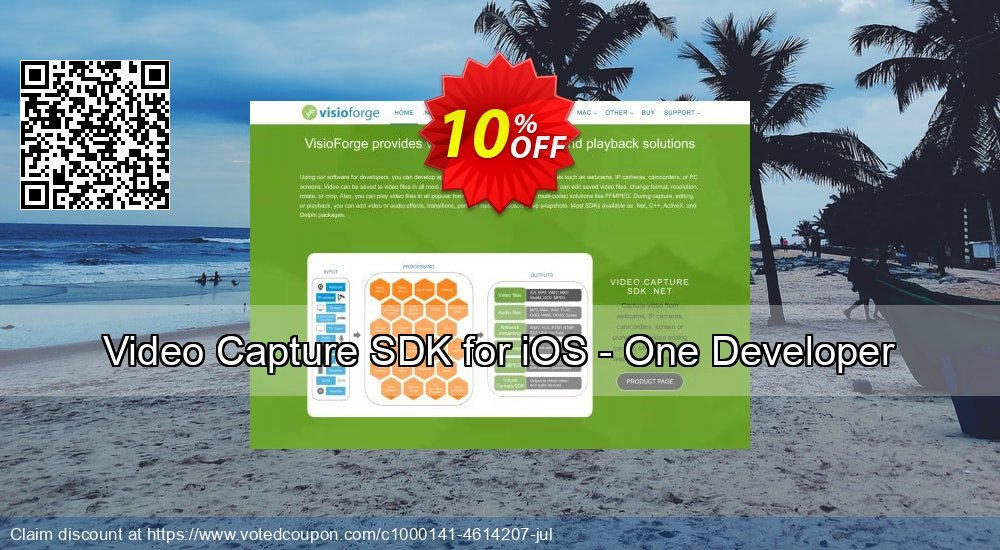 Get 10% OFF Video Capture SDK for iOS - One Developer offering discount