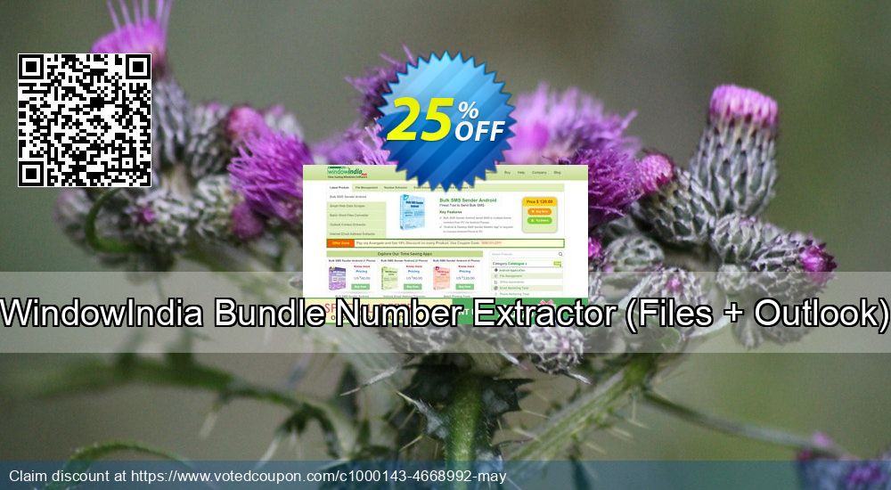 Get 25% OFF Bundle Number Extractor (Files + Outlook) promo sales