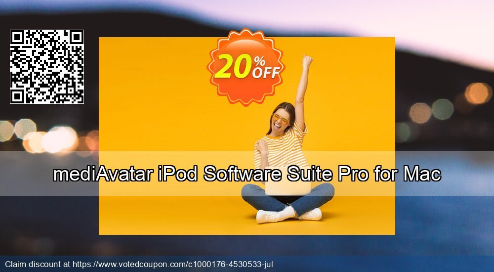 Get 20% OFF mediAvatar iPod Software Suite Pro for Mac offering sales