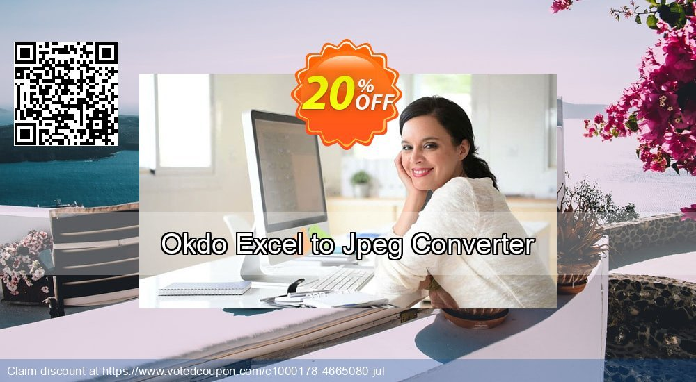 Get 20% OFF Okdo Excel to Jpeg Converter discounts