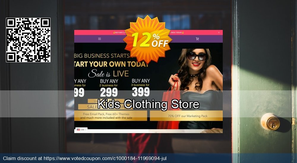 Get 24% OFF Kids Clothing Store promotions