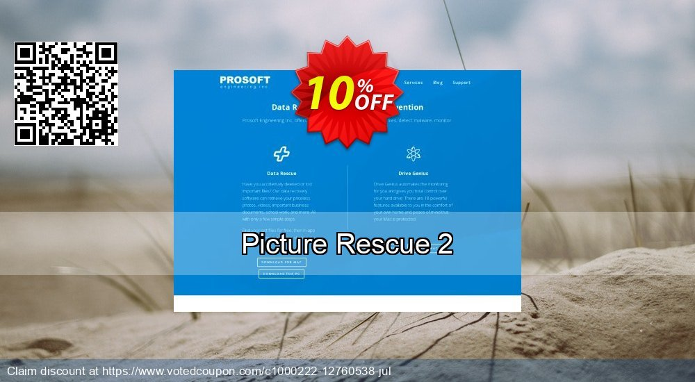 Get 10% OFF Picture Rescue 2 offer