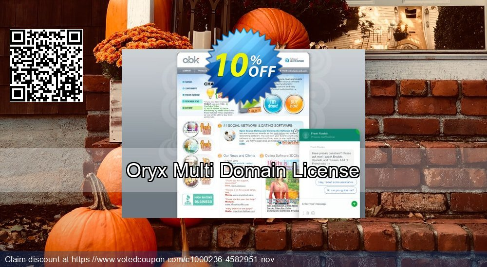 Get 10% OFF Oryx Multi Domain License discount