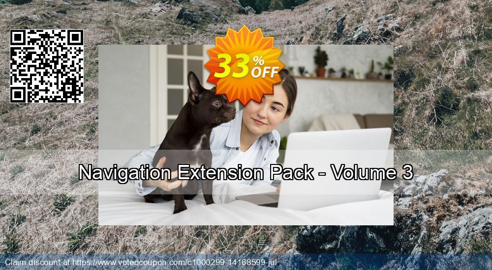 Get 25% OFF Navigation Extension Pack - Volume 3 offering deals