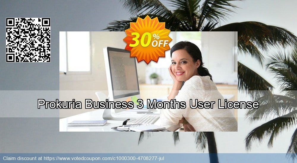 Get 30% OFF Prokuria Business 3 Months User License discounts
