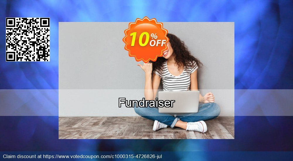 Get 10% OFF Fundraiser offer