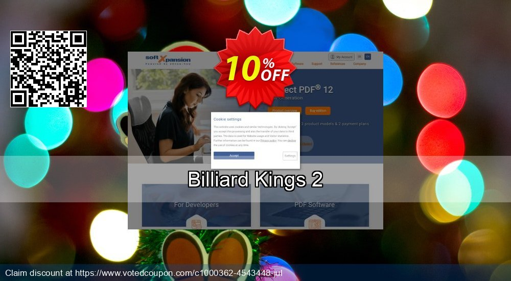 Get 10% OFF Billiard Kings 2 (Download, English) offering sales