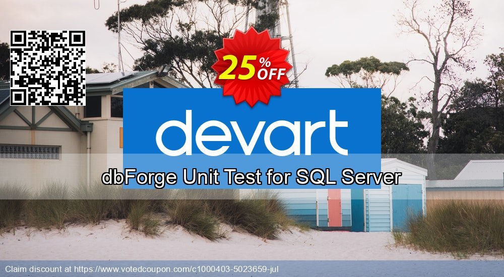 Get 10% OFF dbForge Unit Test for SQL Server promo sales