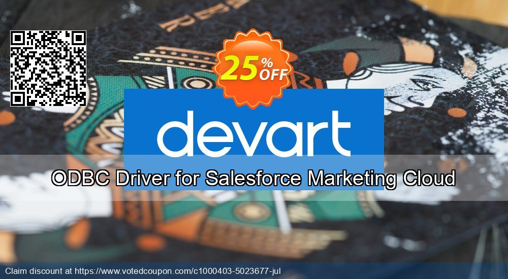 Get 10% OFF ODBC Driver for Salesforce Marketing Cloud discount
