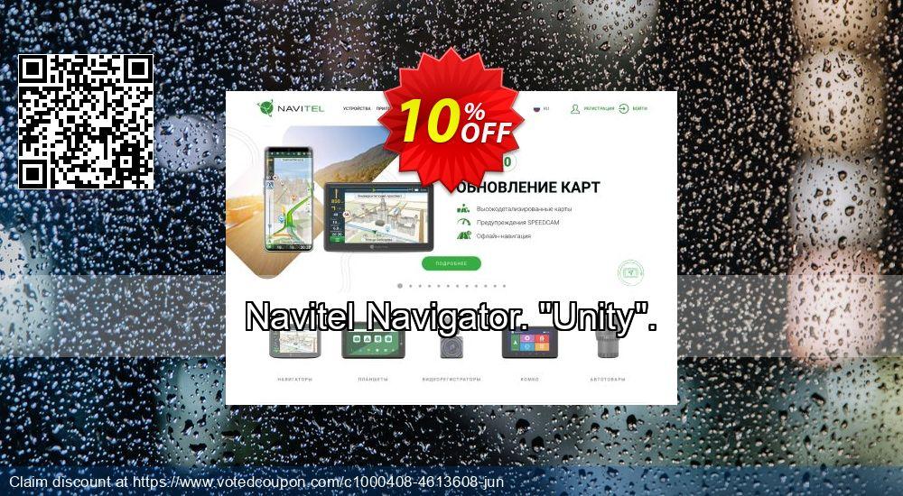 "Get 10% OFF Navitel Navigator. ""Unity"". offering sales"