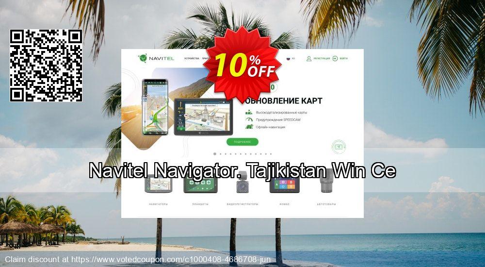 Get 10% OFF Navitel Navigator. Tajikistan Win Ce deals