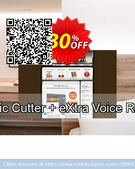 Get 30% OFF Mac App Bundle (Magic Cutter + eXtra Voice Recorder + Smart Gain) promo sales