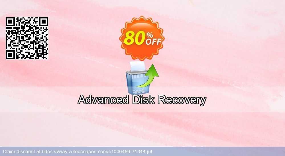 Get 53% OFF Advanced Disk Recovery Coupon